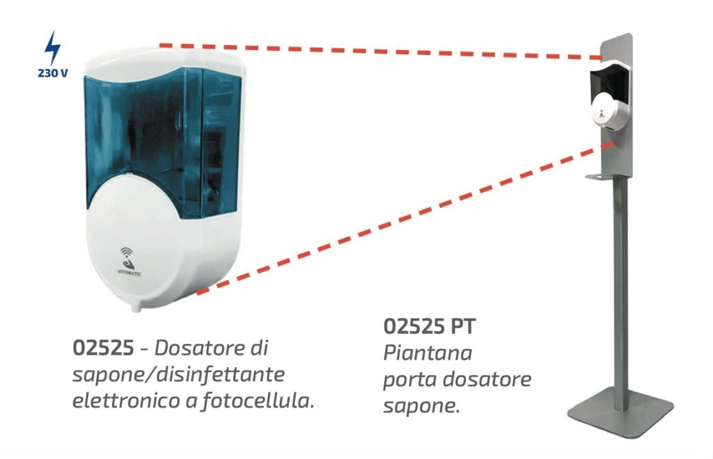 dosatore dispenser coronavirus