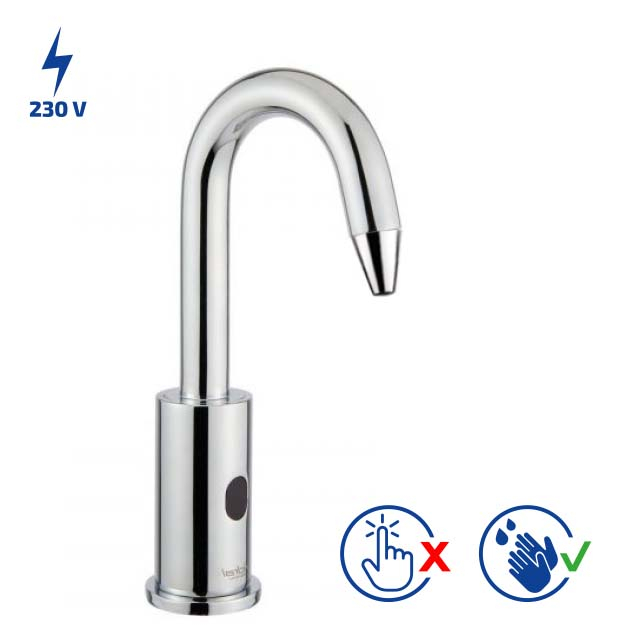 02503 / 1S- CURVE Electronic soap/sanitizer dispenser for  washbasin